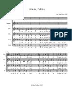 Adestefideles PDF
