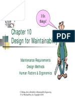 Chapter 10 Maintainability
