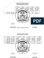 Jadwal Pelajaran I.docx