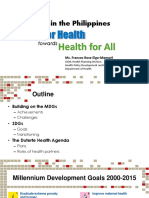 all for health towads health for all by doh