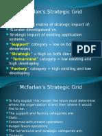 Mcfarlan's Strategic Grid 3.3