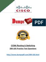 Dumpspdf Real Exam 200-105 PDF Files