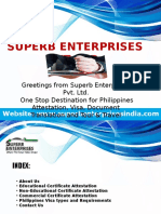Philippines Certificate Attestation Procedure