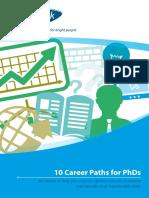 10 Career Paths for Phds