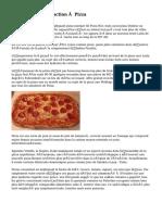 Une brève Introduction à Pizza