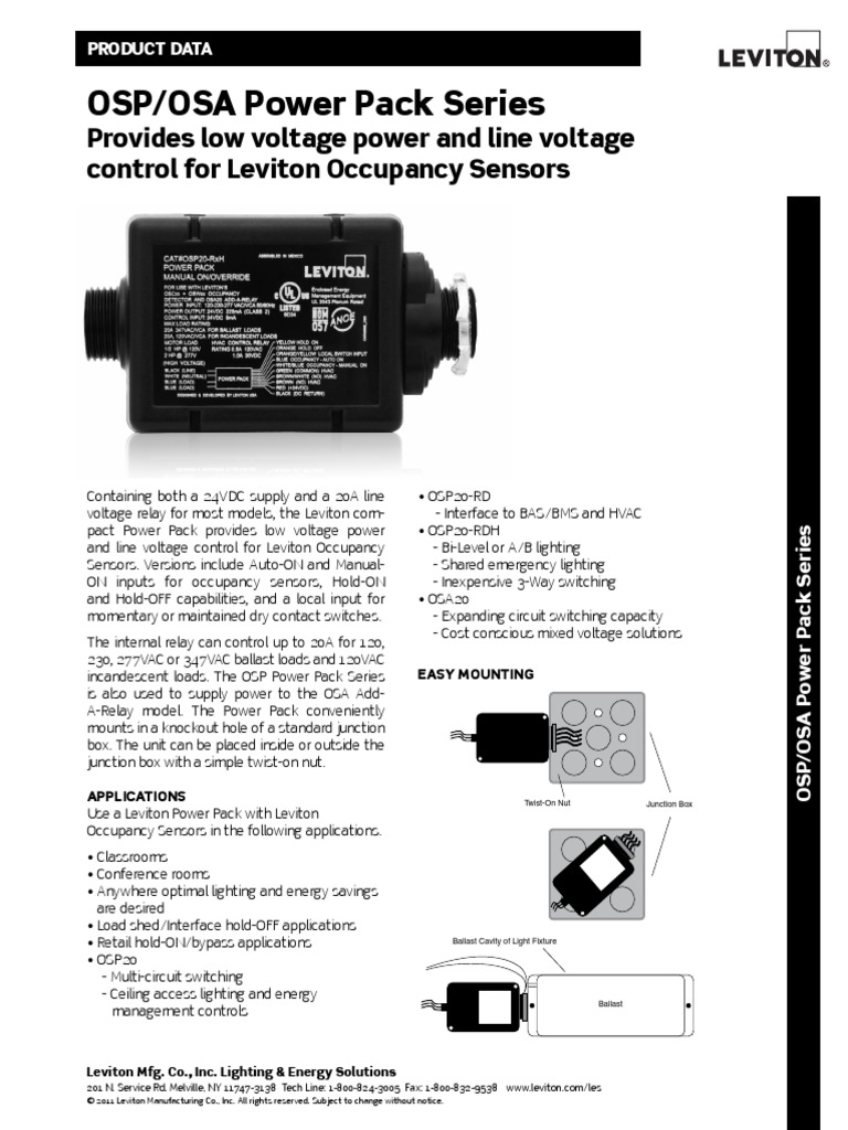 Nice Leviton Lighting Controls Manual Pictures Inspiration ...