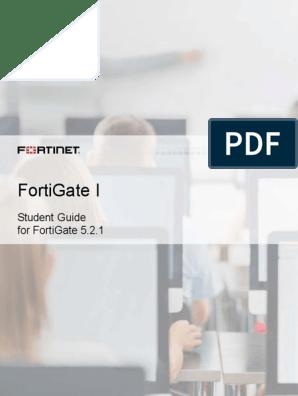 FortiGate I Student Guide-Online V6 | Command Line Interface