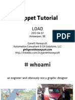 20130407-LOAD Puppet Tutorial