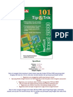 100 Tip Trik MS Excel