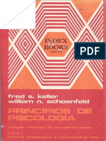 Keller, F. S. & Schoenfeld, W. N. (1974). Princípios de Psicologia