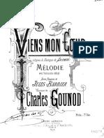Gounod - Viens Mon Coeur
