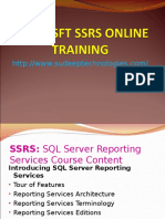 Microsoft ssrs online training in india|USA