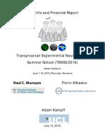 Tenss 2016 - Report