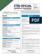Boletín Oficial de la República Argentina, Número 33.442. 18 de agosto de 2016