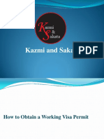 How to Obtain a Working Visa Permit