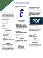 choir middle school handbook for 2016