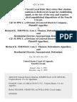 Ge Supply, a Division of General Electric Company v. Richard E. Thomas Lois J. Thomas, and Residential Electric, Incorporated, Ge Supply, a Division of General Electric Company v. Richard E. Thomas Lois J. Thomas, and Residential Electric, Incorporated, 62 F.3d 1414, 4th Cir. (1995)