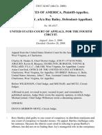 United States v. Rory Bartley, A/K/A Roy Bailey, 230 F.3d 667, 4th Cir. (2000)