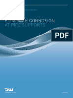 Corrosion Prevention at Pipe Support