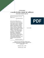 Piedmont Environ v. US Dept of Transport, 4th Cir. (2003)