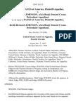 United States v. Keith Bernard Johnson, A/K/A Bonji Denard Crane, United States of America v. Keith Bernard Johnson, A/K/A Bonji Denard Crane, 138 F.3d 115, 4th Cir. (1998)