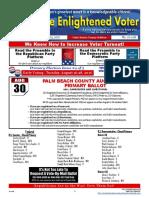 16-10E August 15 Issue - The Enlightened Voter