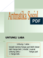 aritmatika-sosial