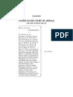 Adams v. Trustees of the Univ. of NC-Wilmington, 640 F.3d 550, 4th Cir. (2011)