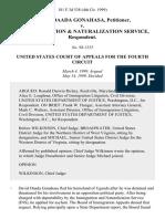 David Daada Gonahasa v. U.S. Immigration & Naturalization Service, 181 F.3d 538, 4th Cir. (1999)