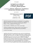 68 Fair empl.prac.cas. (Bna) 161, 66 Empl. Prac. Dec. P 43,605 Lillian D. Woolf v. Erskine B. Bowles, Administrator, Small Business Administration, 57 F.3d 407, 4th Cir. (1995)