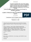 Calvin Warren Bernard Warren J.H. Woods, Sr. v. Variety Wholesalers, Incorporated, 70 F.3d 1264, 4th Cir. (1995)