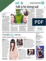"""Featurette on """"The Avengers"""" motion-capture Hulk performer Steve Romm"""