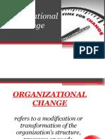 Org Chnage