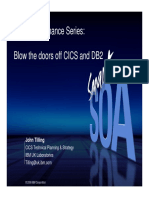 Blow the Doors Off CICS and DB2