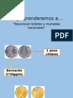 Monedas y Billetes chilenos