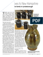 Peter Clark Pottery - New England Antiques Journal August 2016