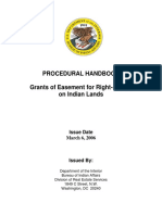 BIA Procedural Handbook-Grant of Easement for Right of Way on Indian Lands.pdf