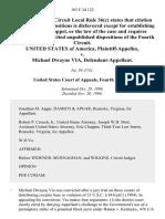 United States v. Michael Dwayne Via, 103 F.3d 122, 4th Cir. (1996)