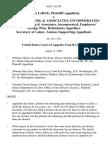 James Larue v. Dewolff, Boberg & Associates, Incorporated Dewolff, Boberg & Associates, Incorporated, Employees' Savings Plan, Secretary of Labor, Amicus Supporting, 458 F.3d 359, 4th Cir. (2006)