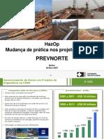 HazOp - Mudança de Prática Na CVRD - PREVNORTE_2007