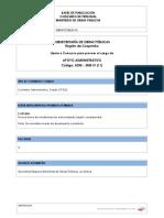 Apoyo Administrativo ADM-SRM-IV 11