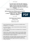 Pauline M. Ewald v. Department of Waste Management, Commonwealth of Virginia Cynthia v. Bailey K.C. Das Winston Evans, 972 F.2d 339, 4th Cir. (1992)