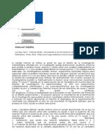 "Resumen de Lavrakas, Paul J. ""Internal Validity."" Encyclopedia of Survey Research Methods"