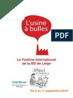Festival BD L'Usine à Bulles