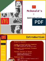 13076482 McDonald s Presentation