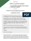Willie Brown, Jr. v. R.C. Lee, Warden, Central Prison, Raleigh, North Carolina, 319 F.3d 162, 4th Cir. (2003)