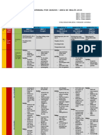 1ST GRADE Planeacion Semanal - Sistema UNO