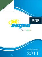 Informe Anual EEGSA 2011