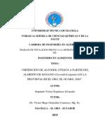 Obtencion de alcohol etílico a partir del almidón de banano en la privincia de el oro, el guyabo.pdf