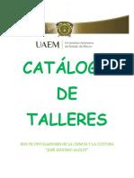 Presentación de Catálogo de Talleres
